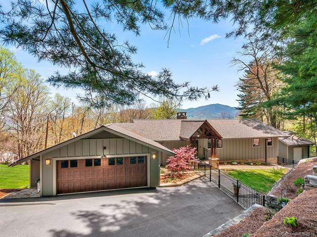 55 Scenic Circle, Waynesville, NC 28786 (#3498254) :: Roby Realty