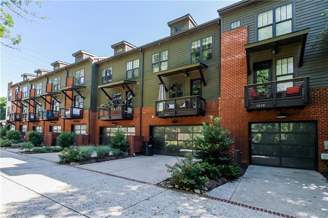 1644 Kenilworth Avenue #7, Charlotte, NC 28203 (#3519461) :: Homes Charlotte