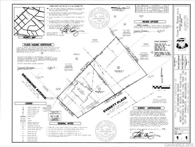 tbd Everett Place #2, Charlotte, NC 28205 (#3540538) :: Puma & Associates Realty Inc.