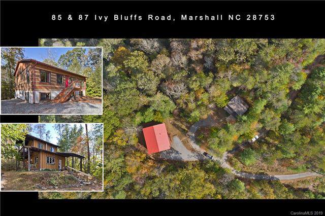 85 & 87 Ivy Bluffs, Marshall, NC 28753 (#3562278) :: Stephen Cooley Real Estate Group