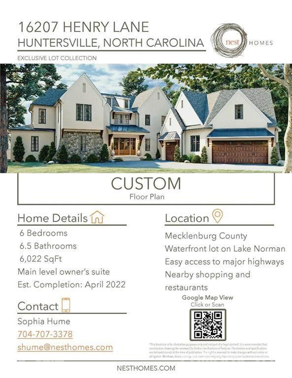 16207 Henry Lane #2, Huntersville, NC 28078 (#3703829) :: Carlyle Properties
