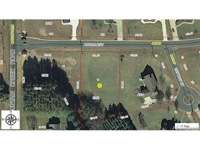 Lot 11 Amanda Way, Albemarle, NC 28001 (#3010186) :: The Sarver Group