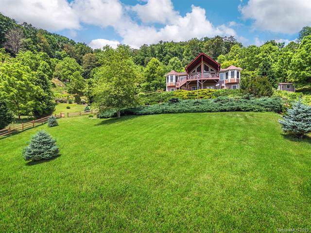 168 Lucky Cove Road, Waynesville, NC 28785 (#3516363) :: Keller Williams Professionals