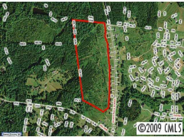 LOT Black Rock School Road #1, Cherryville, NC 28021 (#102080) :: Exit Mountain Realty