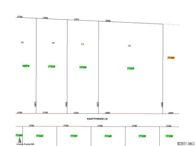 Lot 13 Knottywood Lane, Vale, NC 28168 (#418350) :: MECA Realty, LLC