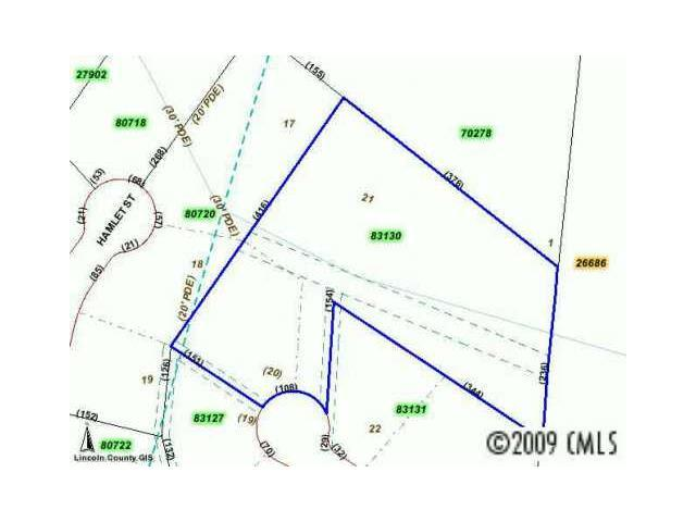 LOT 20 Willow Ridge Road, Lincolnton, NC 28092 (#469569) :: Cloninger Properties