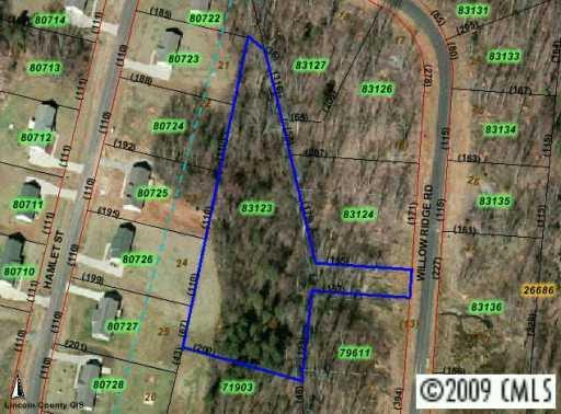 LOT 14 Willow Ridge Road, Lincolnton, NC 28092 (#469555) :: Rinehart Realty