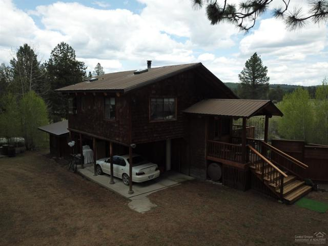 45877 Larkin Creek Road, Chiloquin, OR 97624 (MLS #201804906) :: Fred Real Estate Group of Central Oregon