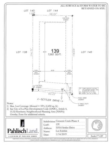 51916 Settler Drive Lot139-, La Pine, OR 97739 (MLS #201901634) :: Team Birtola | High Desert Realty