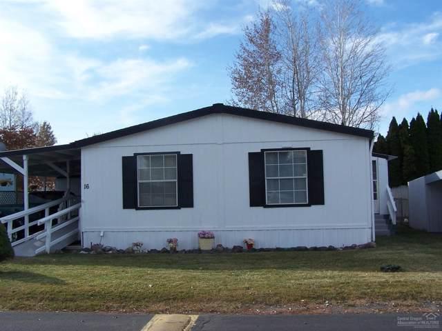 185 NW Harwood Street #16, Prineville, OR 97754 (MLS #201910276) :: Berkshire Hathaway HomeServices Northwest Real Estate