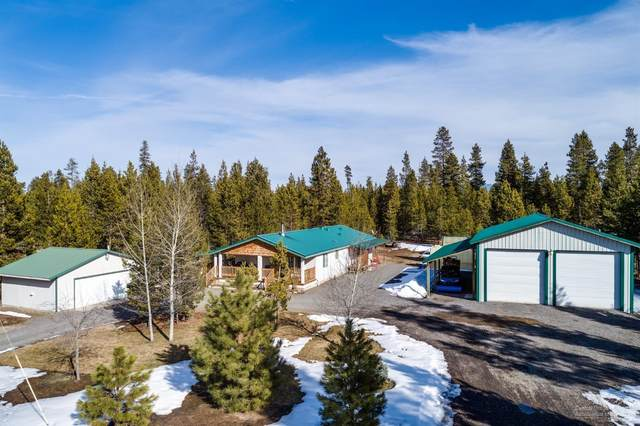 53772 2nd Street, La Pine, OR 97739 (MLS #202001322) :: Fred Real Estate Group of Central Oregon