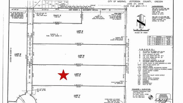 Lot 6 10th Street, Madras, OR 97741 (MLS #220106393) :: Fred Real Estate Group of Central Oregon