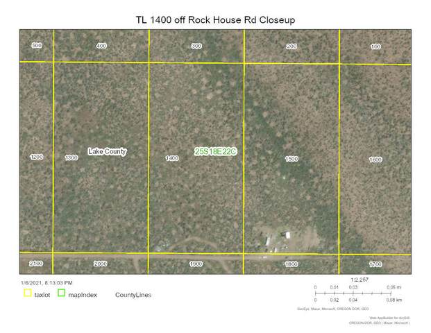 TL: 1400 Off Rockhouse[25S18e22c001400] Road, Christmas Valley, OR 97641 (MLS #220114530) :: The Payson Group