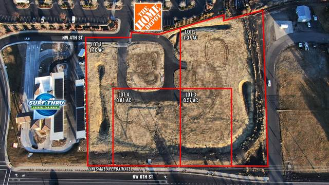 NW Nw 4th Street Lot 4, Redmond, OR 97756 (MLS #220118839) :: The Riley Group