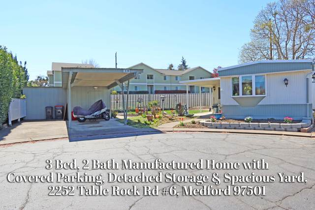 2252 Table Rock Road #6, Medford, OR 97501 (MLS #220121096) :: Coldwell Banker Bain