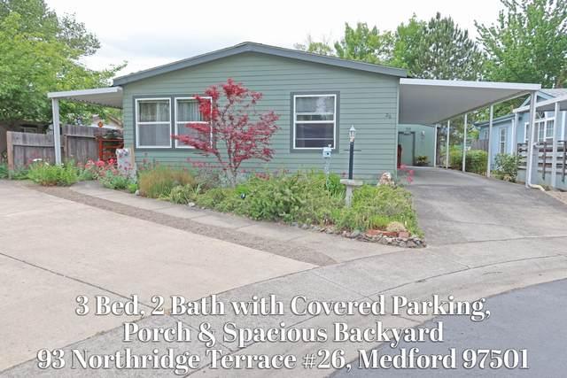93 Northridge Terrace #26, Medford, OR 97501 (MLS #220124531) :: Chris Scott, Central Oregon Valley Brokers