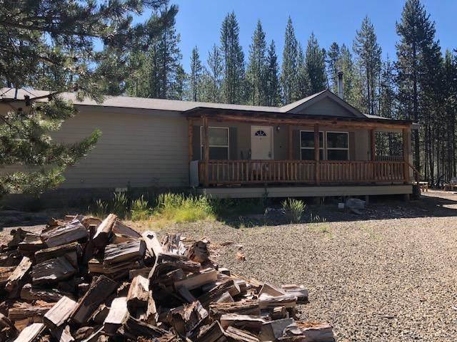 128540 Monk Lane, Crescent Lake, OR 97733 (MLS #220106033) :: Fred Real Estate Group of Central Oregon