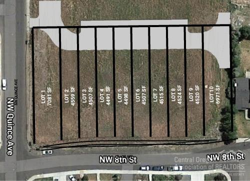 0 NW 8th St Street Lots1-10, Redmond, OR 97756 (MLS #201810907) :: Pam Mayo-Phillips & Brook Havens with Cascade Sotheby's International Realty