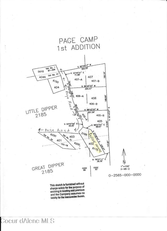 Page Camp Lots 405A & 405B - Photo 1