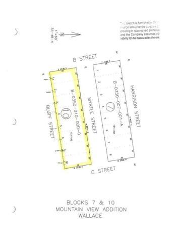 NKA Blk 10 Ediams Mt View Add, Wallace, ID 83873 (#18-12631) :: Windermere Coeur d'Alene Realty