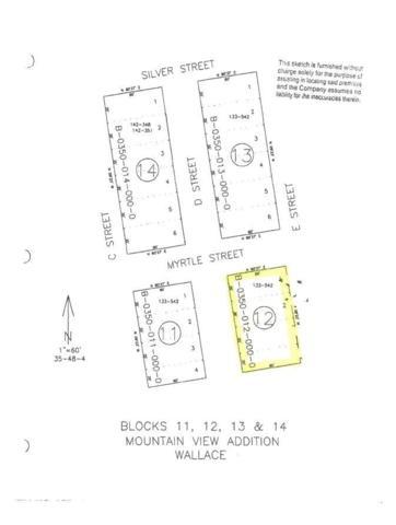 NKA Blk 12 Ediams Mt View Add, Wallace, ID 83873 (#18-12634) :: Windermere Coeur d'Alene Realty