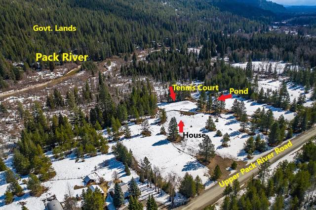 6791 Upper Pack River Road, Sandpoint, ID 83864 (#20-2882) :: Chad Salsbury Group