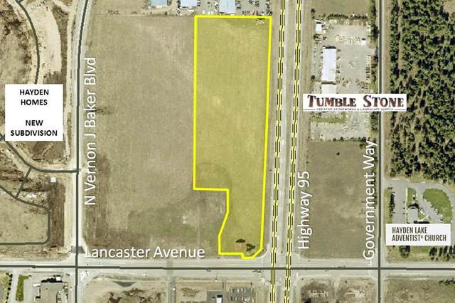 NW Corner Of Lancaster Rd&Hwy 95, Hayden, ID 83835 (#21-1346) :: Chad Salsbury Group