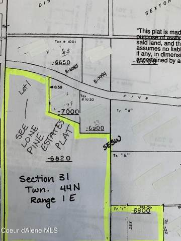 11.11 AC Finn Creek Rd, Fernwood, ID 83830 (#21-1587) :: Amazing Home Network