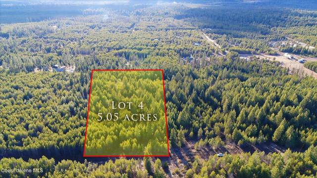 Lot 4 Sawbuck Rd, Spirit Lake, ID 83869 (#21-2741) :: Embrace Realty Group