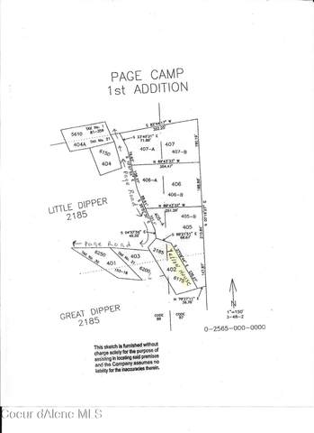 Page Camp Lots 405A & 405B, Smelterville, ID 83868 (#21-2926) :: Coeur d'Alene Area Homes For Sale