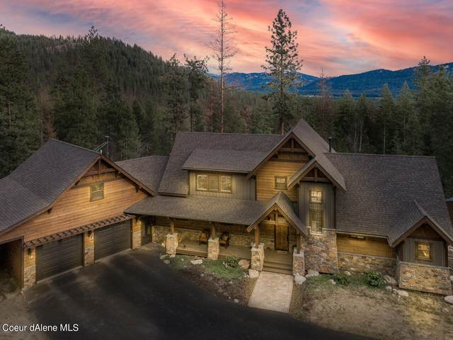 405 Trickle Creek Ln., Sagle, ID 83860 (#21-2959) :: Coeur d'Alene Area Homes For Sale