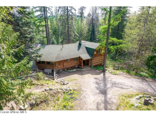 3901 Upper Gold Creek Road, Sandpoint, ID 83864 (#21-4095) :: ExSell Realty Group