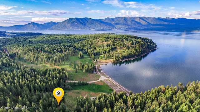 Lot 9 Camp Bay, Sagle, ID 83860 (#21-1058) :: CDA Home Finder