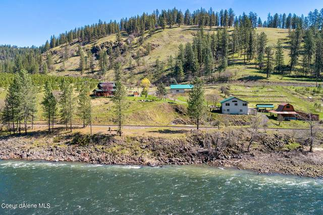 3126 Lower Fords Creek Rd, Orofino, ID 83544 (#21-3099) :: Five Star Real Estate Group