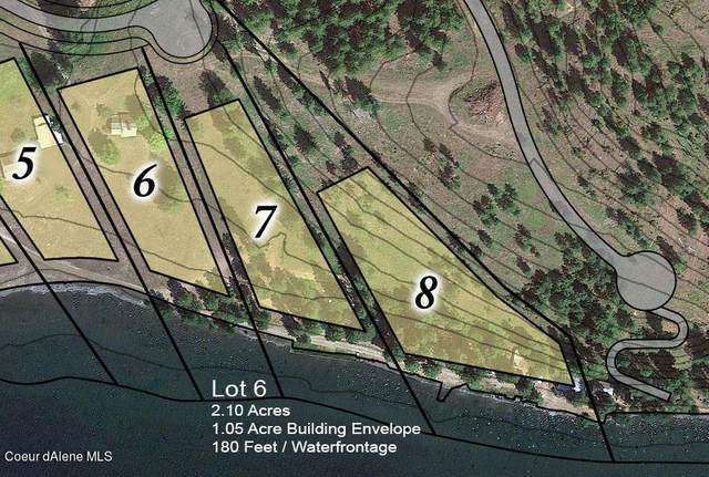 Lot 6 Camp Bay, Sagle, ID 83860 (#21-1053) :: CDA Home Finder