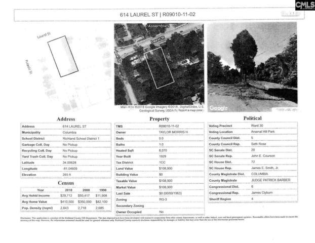 614 Laurel, Columbia, SC 29201 (MLS #459060) :: Home Advantage Realty, LLC