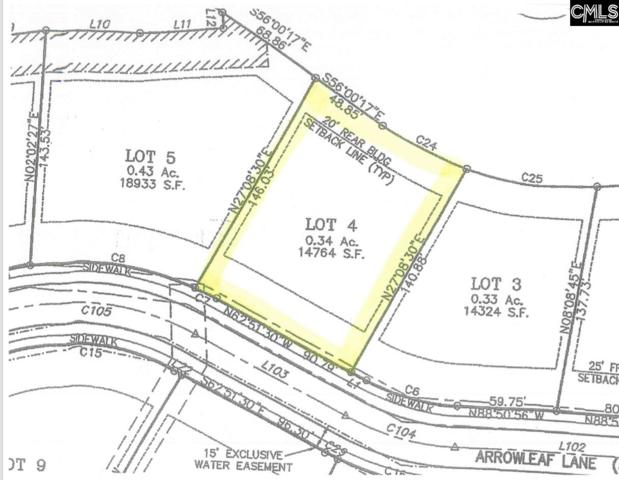 224 West Arrowleaf Ln (Lot 4), Elgin, SC 29045 (MLS #474175) :: EXIT Real Estate Consultants