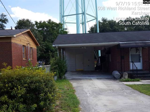 505 W Richland Street, Kershaw, SC 29067 (MLS #479488) :: EXIT Real Estate Consultants