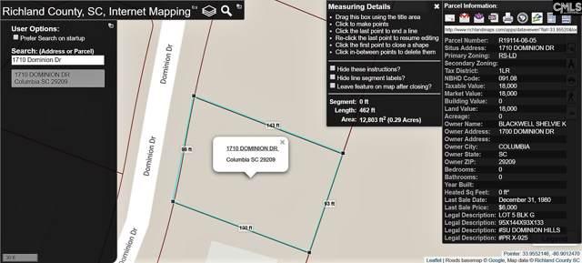 1710 Dominion Drive, Columbia, SC 29209 (MLS #484199) :: EXIT Real Estate Consultants