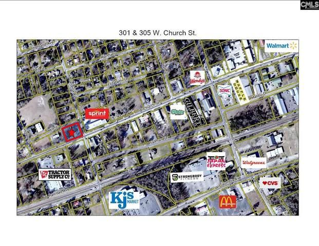 301 W & 305 W Church Street, Batesburg, SC 29006 (MLS #527981) :: The Olivia Cooley Group at Keller Williams Realty