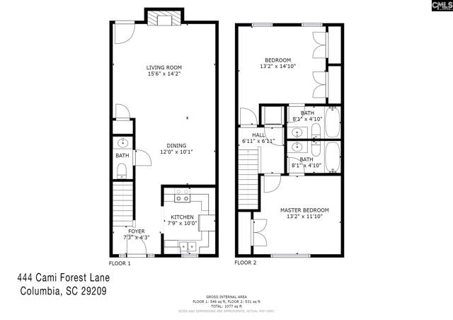 444 Cami Forest Lane, Columbia, SC 29209 (MLS #477144) :: Resource Realty Group