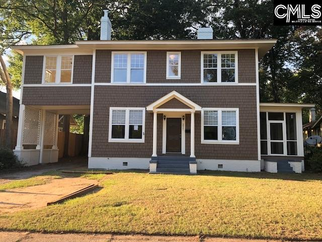 2821 Blossom Street, Columbia, SC 29205 (MLS #453124) :: The Neighborhood Company at Keller Williams Columbia