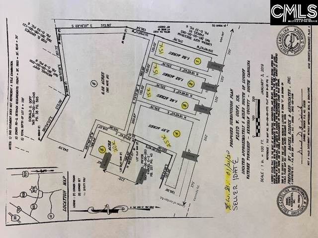 0 Jordan Road #5, Lugoff, SC 29078 (MLS #487345) :: EXIT Real Estate Consultants
