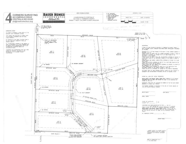 LOT 3 Dry Fork Acres, New Bloomfield, MO 65063 (MLS #391339) :: Columbia Real Estate