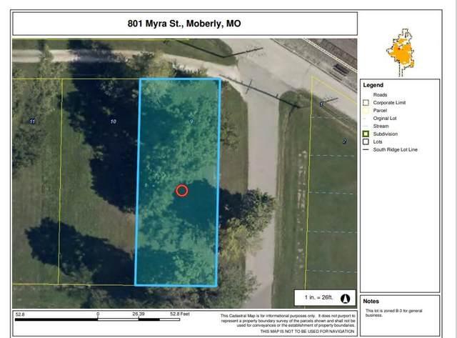 801 Myra St, Moberly, MO 65270 (MLS #398144) :: Columbia Real Estate