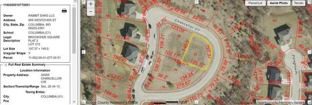 LOT 212 Chancellor Cir, Columbia, MO 65202 (MLS #401903) :: Columbia Real Estate