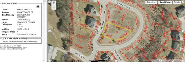 LOT 211 Chancellor Cir, Columbia, MO 65202 (MLS #401905) :: Columbia Real Estate