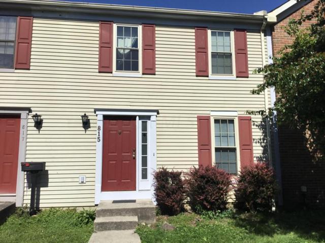 815 Crofton Place, Reynoldsburg, OH 43068 (MLS #217022267) :: Kim Kovacs and Partners