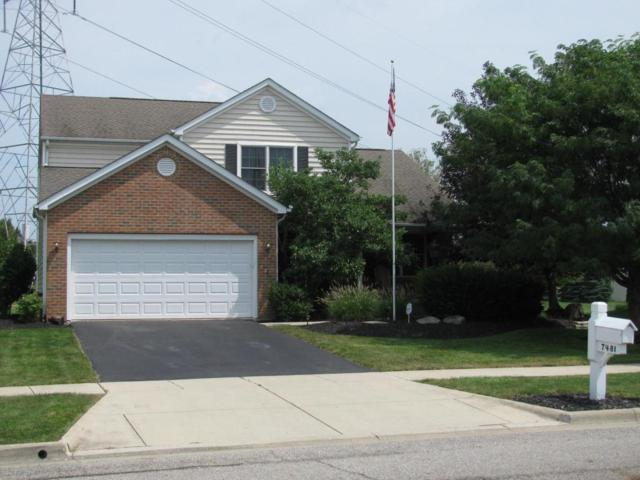 7481 Holderman Street, Lewis Center, OH 43035 (MLS #217030914) :: Marsh Realty Group, LLC
