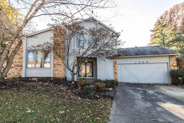 1369 Sugarberry Court, Westerville, OH 43081 (MLS #217041630) :: Berkshire Hathaway Home Services Crager Tobin Real Estate